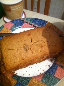 Kiwi Bread Goodness with the Vanilla Ice Cream..Nom!!